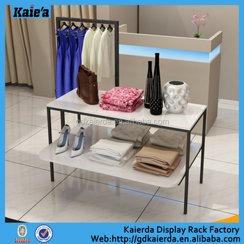 Modern Expo Standsay : Modern trade show display stands clothing display table view