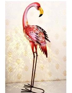 Pink Flamingo Garden Ornaments