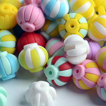 bpa free silicone beads for baby teether bead toy