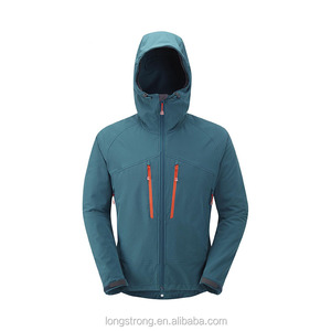 Men outdoor breathable hooded jacket softshell garment RYH094
