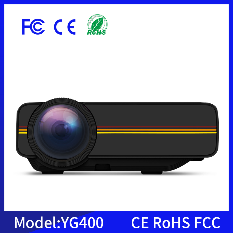 Hot sale YG400 home mini LED projector 1000 lumens Children Educational Projector