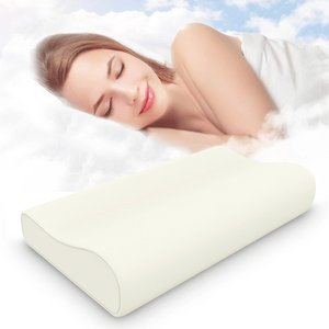 Support Sleeping Rest contour memory foam neck orthopedic pillow for head shaping
