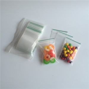 "2.5mil 1000 Baggies 2"" X 2"" Small Ziplock Reclosable Seal Clear Plastic Poly Bag"