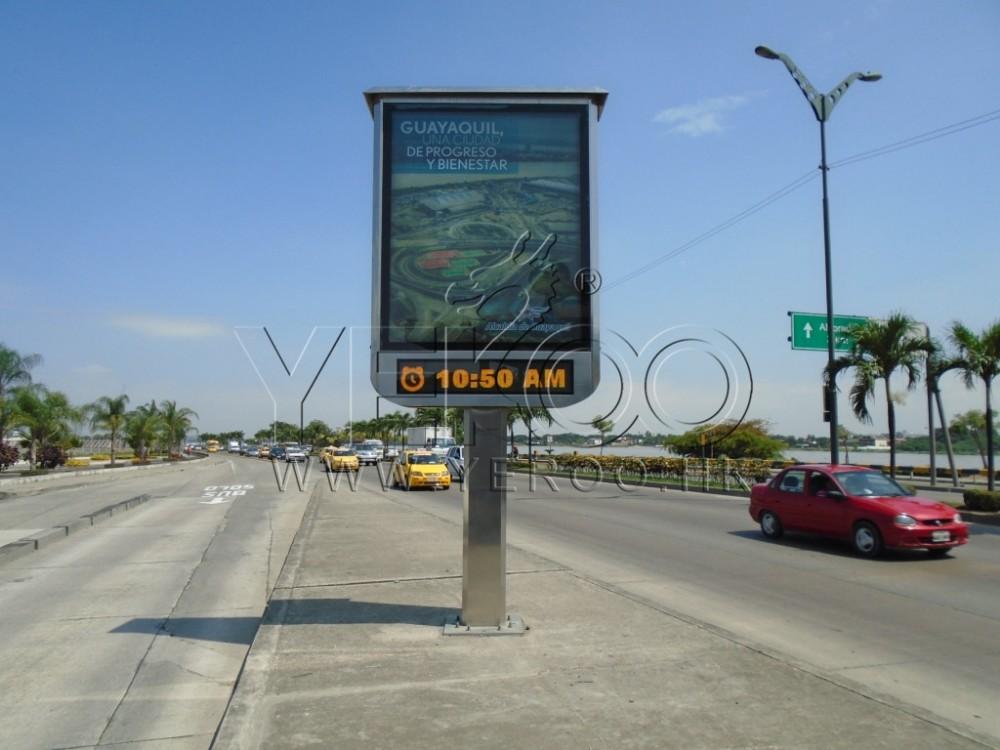 product-YEROO-Three sidedfull color P8 P10 P12 P16 digital led billboard-img-5