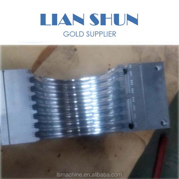 Plastic Extrusion die head and aluminum mold for Double wall corrugated pipe