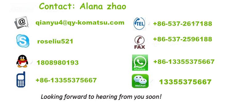 PC200-8 PC220-8 escavatore secchio 205-92-26210 ripper secchio made in Jining, di alta qualità