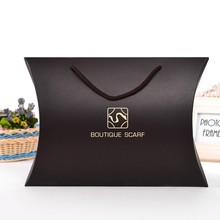 Customized Logo matt pillow box for natural hair extensions packing