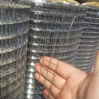 in rolls Galvanized welded wire mesh panel/ welded wire mesh