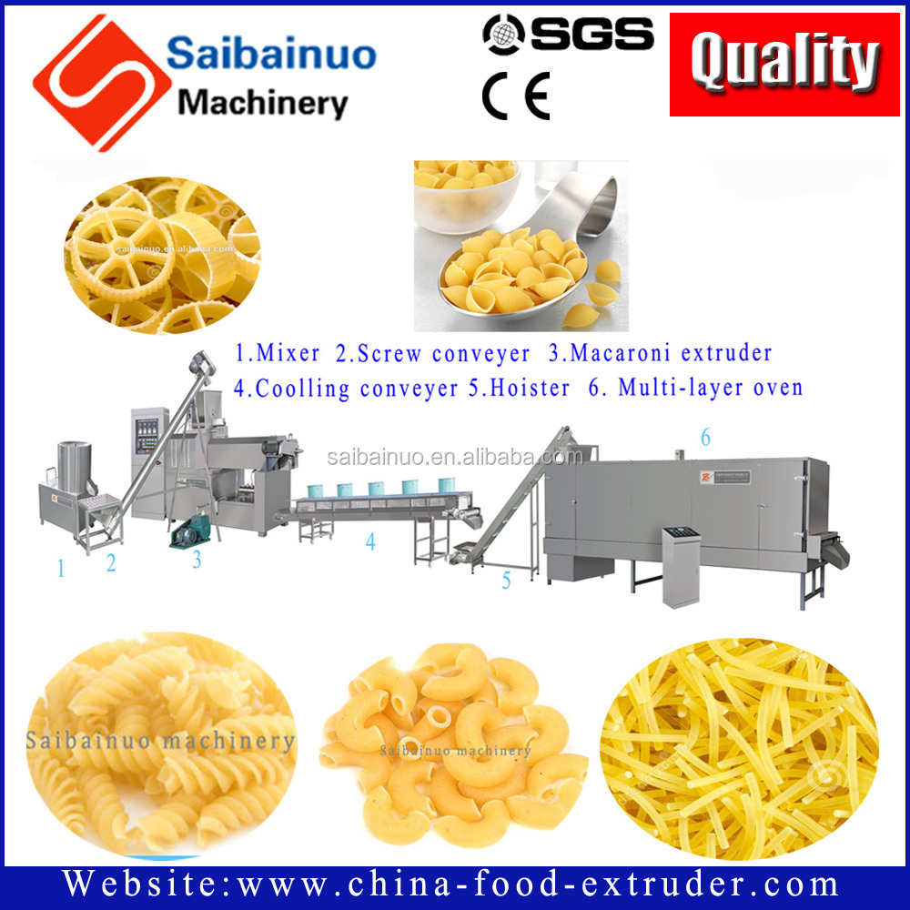Best price pasta macaroni production line