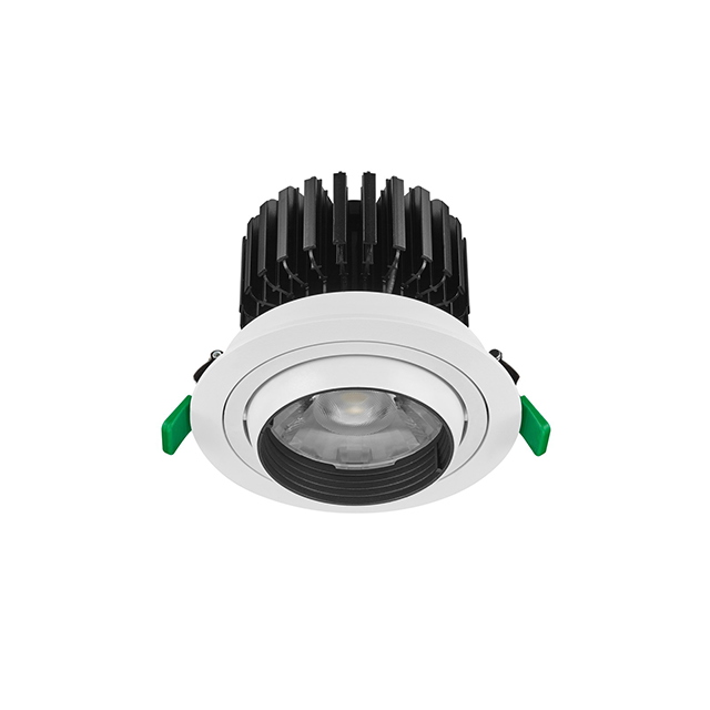 Best quality 4 5 inch hole commercial recessed ceiling light 30W 35W ceiling led <strong>downlight</strong> with flicker free driver