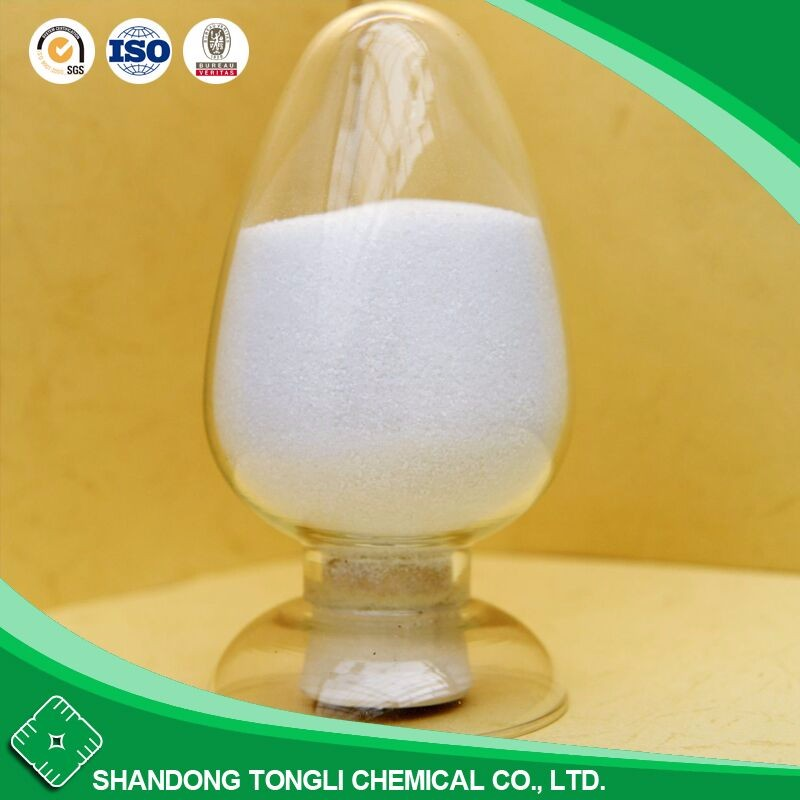 anionic polyacrylamide with the properties of flocculation, thickening