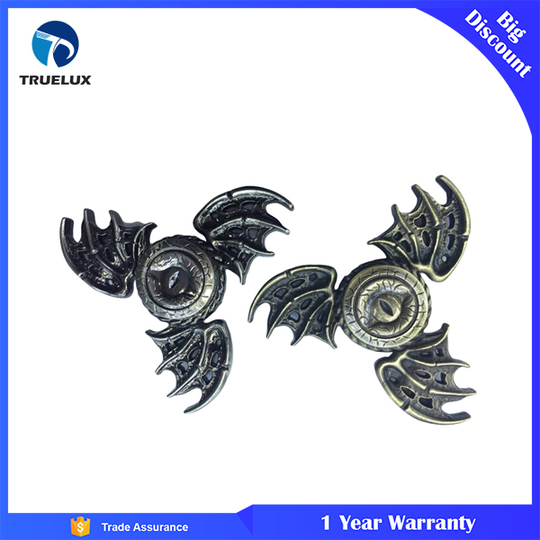 2017 Hot selling Retro 3 Flying Dragon Zinc Relieve Stress Fidget Toys metal wind Spinner