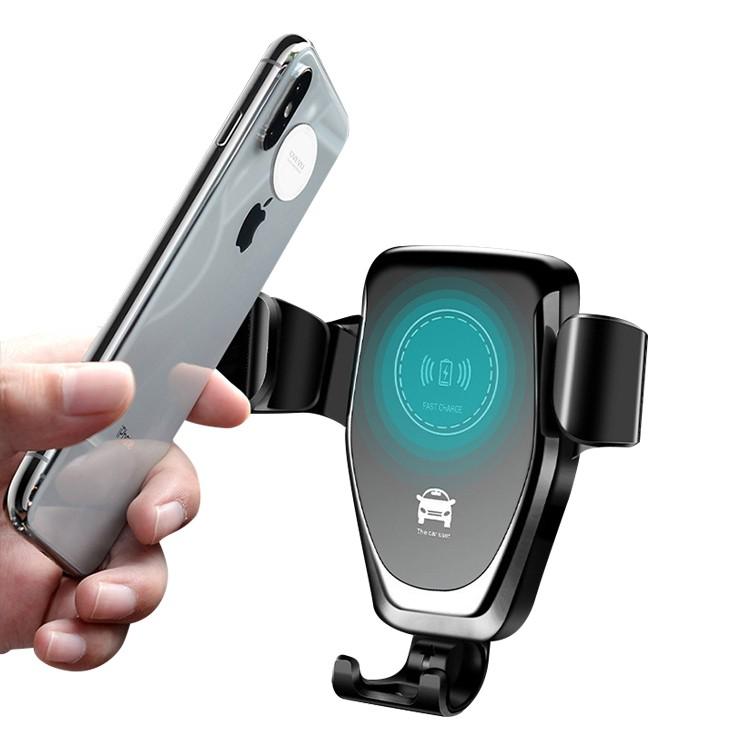 Chargeur Rapide Sans Fil Qi Support De Prise D'air de Voiture Sans Fil chargeur Pour iPhone XS X XR XS MAX Note 9 chargeur rapide Sans Fil - ANKUX Tech Co., Ltd
