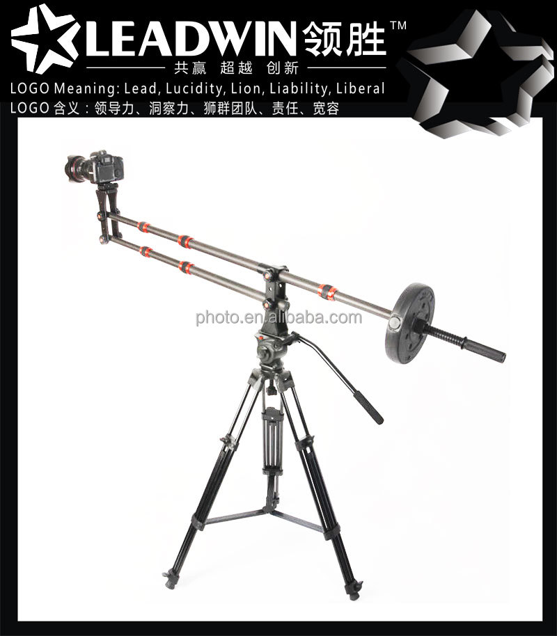 trending hot products Professional carbon fiber photo video dslr forklift jib crane attachment