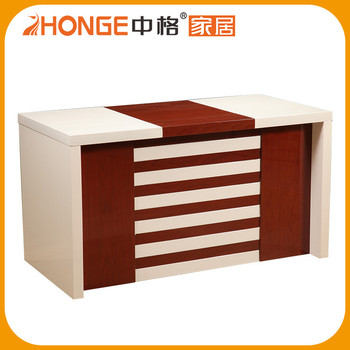 office table wood. Cheap Price New Design Solid Wood Counter Office Table
