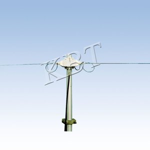 1.5-30MHz 2.15dBi Broadband Aluminum HF Antenna for Long-distance Communication