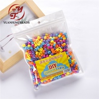 Mix Color 6mm Pony Beads For Kids DIY Making