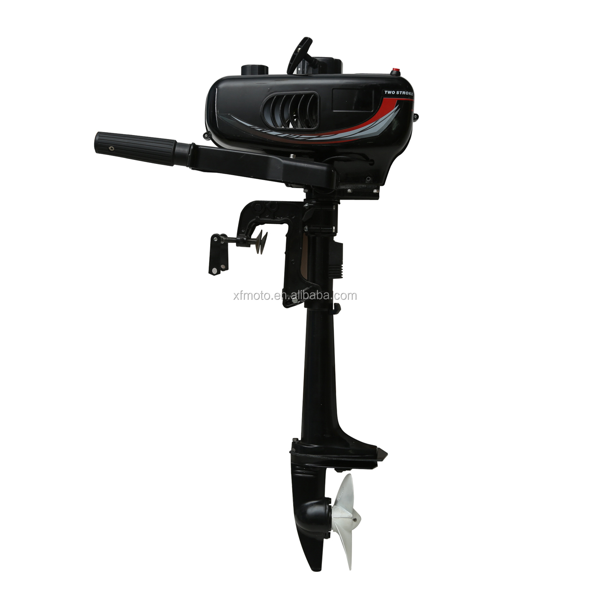 Updated New 3.5HP Two-Stroke Water Cooling Outboard Motor Boat Engine