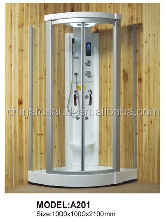 Cabin Shower Bath Price/Steam Bath A201/foshan shower cabin