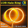 cob halo light yellow white red green led angel eye