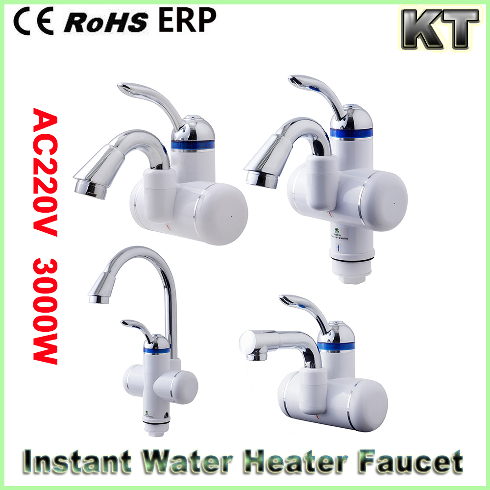 Factory supply low price deck mounted faucet instant electric heating hot water heater