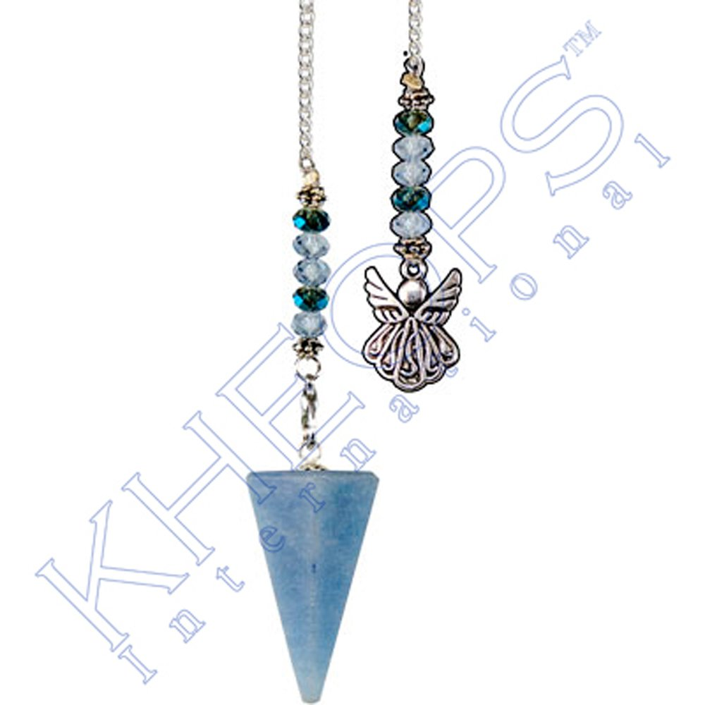 Kheops International - Hexagonal Pendulum Angelite - Angel (61060)