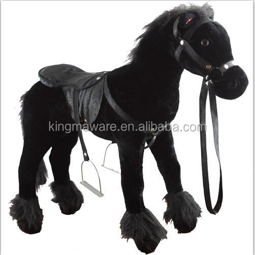 Hot Sale Giant Plush Standing Horse Plush Horse For Riding Buy Kid