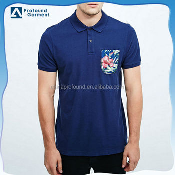 Wholesale Latest Short Sleeve Mens Dry Fit Polo Shirts With 3d