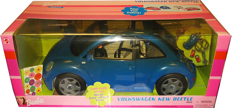 Barbie Volkswagen New Beetle in BLUE VW Beetle Bug