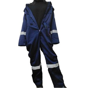 Factory supply OEM design reflective tape workwear normal worker overall uniforms no functional coveralls for men