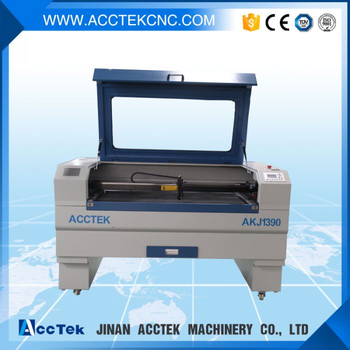 ACCTEK New year promotion laser engraving machine price, co2 laser cutting machine 1390 / companies looking for distributor