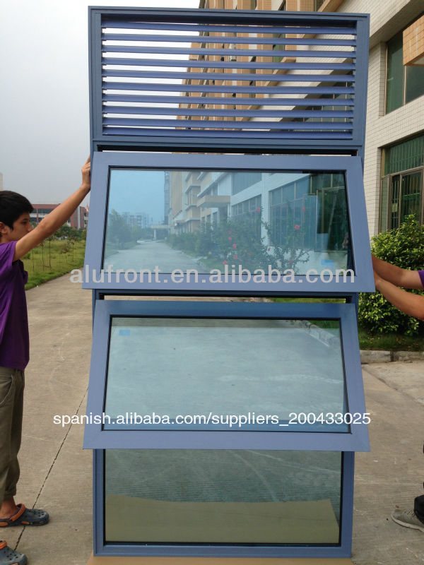 de aluminio ventanas de diseo para el hogar con la lumbrera de cristal