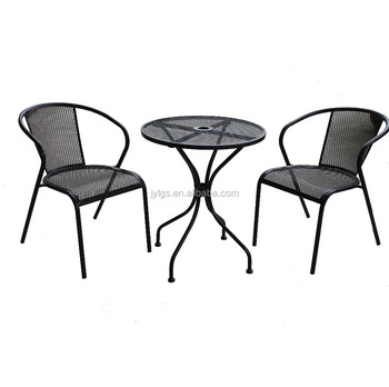 High Quality Metal Outdoor Mesh Bistro