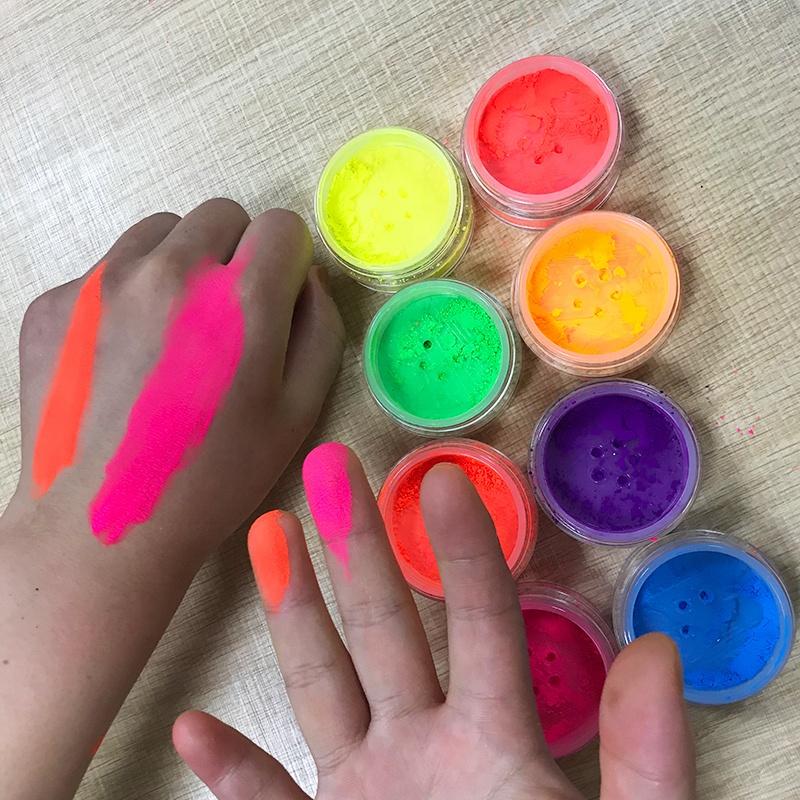 New High Quality Eyeshadow Pigment Neon Color Neon Eyeshadow Loose