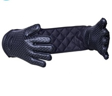 Custom Extra 긴 실리콘 <span class=keywords><strong>오븐</strong></span> Glove <span class=keywords><strong>열</strong></span> 저항하는 두 번 Connect 실리콘 <span class=keywords><strong>오븐</strong></span> 밋