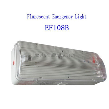 1*8W Fluorescent Anti Panic Emergency Lighting Fixtures (EF108B)