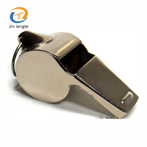 Signal emergency loud stainless steel survival whistles