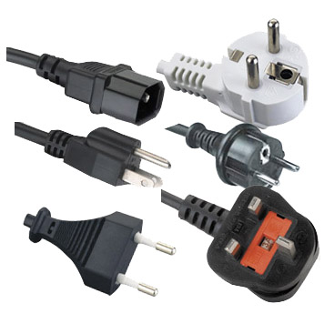 USA,UK,EU, VDE and IEC AC power cord
