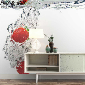 Kitchen wall mural 3d wallpaper for home decoration PW43306643