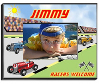 Personalized Race Car Driver Frame