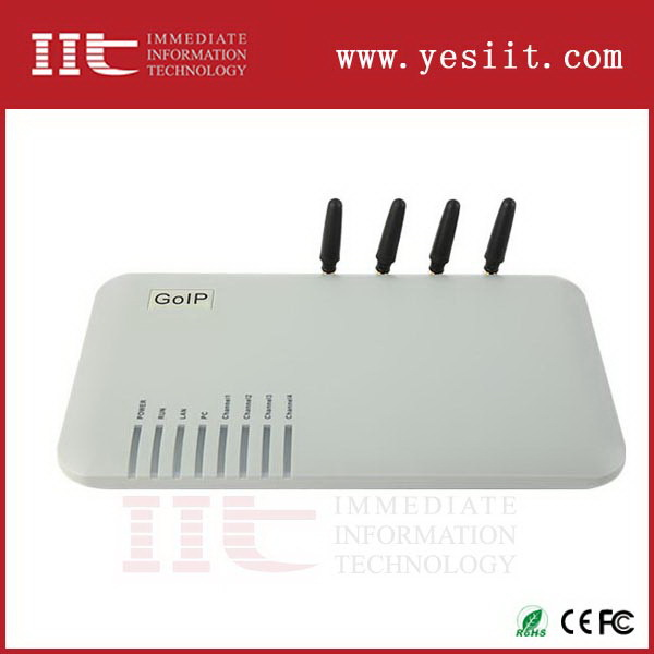 Contemporary most popular 8 port voip h323 gsm gateway