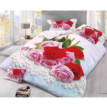 Wholesale Custom 3d Printed Bedding Set 100 Cotton Printed Fitted