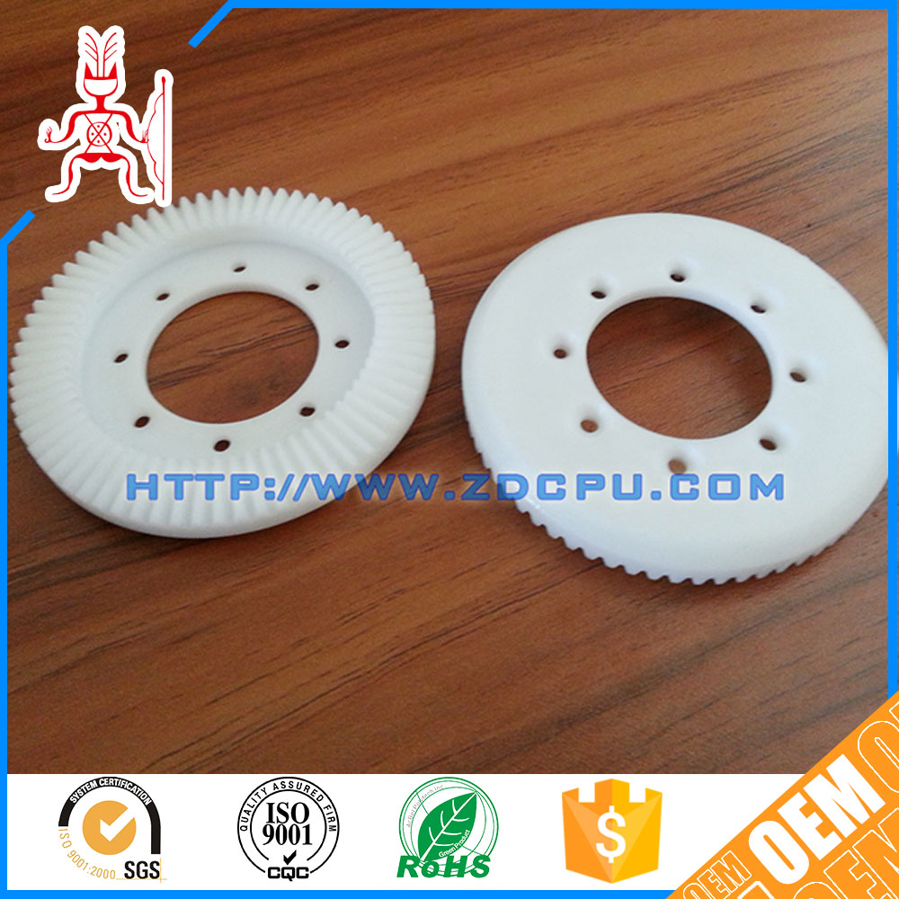 High precision small long working life plastic gears and shaft