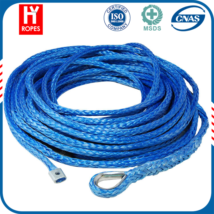 12 stands 5mm uhmpe bush winch rope