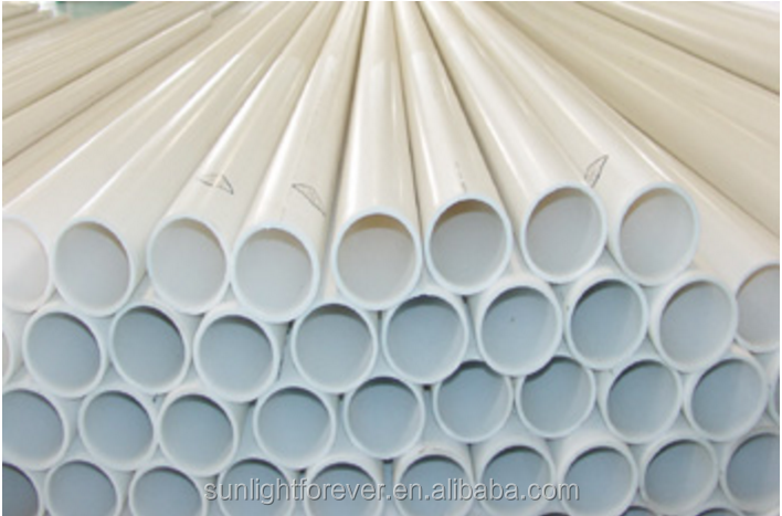 Construction PVC water splicing pipe fittings,pvc u pipe made in china