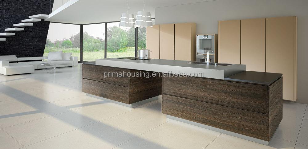 Keuken Fineer Schilderen : Moderne keuken design lak schilderen massief hout fineer mdf