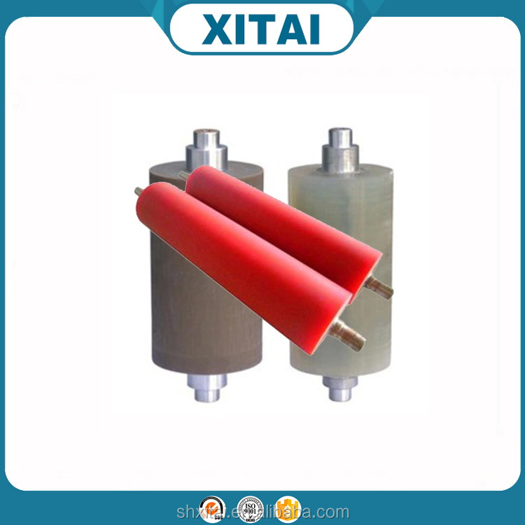 China wholesale reasonable price custom red polyurethane u groove roller