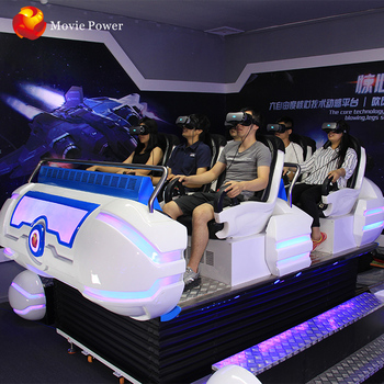 Virtual Reality Game Machine 6dof Electric System 6 Seats 9dvr 6 and 9 seats 12d cinema price