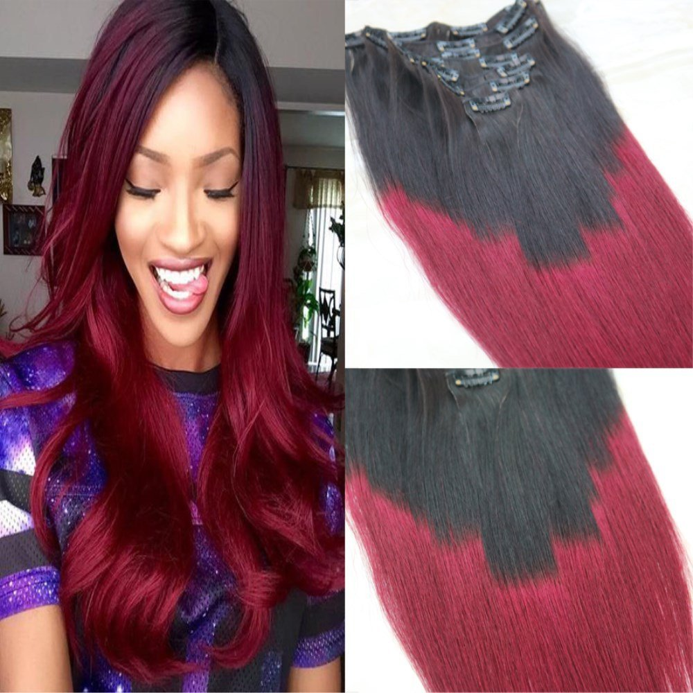 Buy Hairdancing 14 7pcs 120g Color 1b Fading To Color 99j Ombre