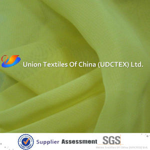 Polyester imitated silk fabric